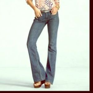 CAbi jeans medium wash flare size 14